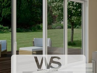 Ventanas en PVC - Termo Acústica : Ventanas de PVC de estilo  por HOME DECO & HOME GLASS,