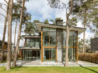 Villa Kerckebosch, Zeist:  Villa door Engel Architecten, Modern
