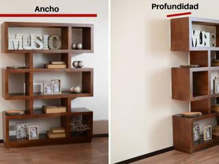 Medir espacios una regla de la decoración :  de estilo  por Muebles Dico, Moderno