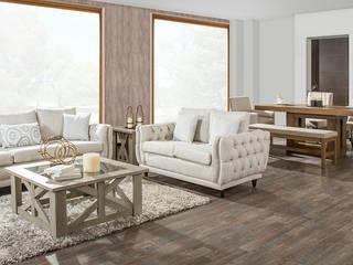 Medir espacios una regla de la decoración : Salas de estilo  por Muebles Dico, Moderno