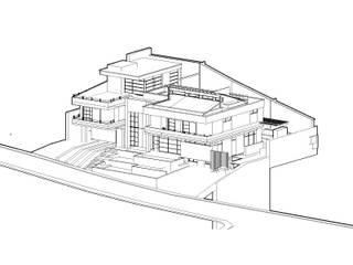 modern  by TALLER 11 Arquitectos, Modern