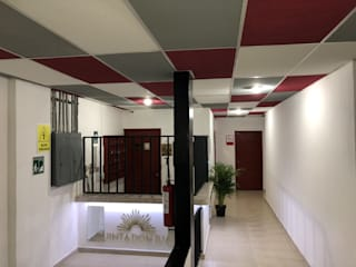 G._ALARQ + TAGA Arquitectos Corridor, hallway & stairsLighting