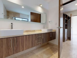 """Casa """"Opuntia 15"""" Baños modernos de Ambás Arquitectos Moderno"""