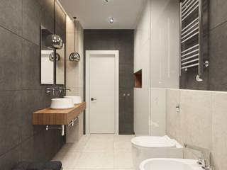 Bath: Ванные комнаты в . Автор – MLR Studio, Лофт
