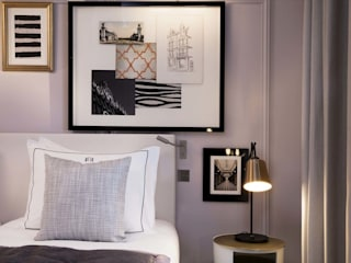 Eclectic style bedroom by Pujol Iluminacion Eclectic
