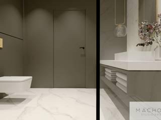 Baños de estilo moderno de Machowska Studio Projektowe Moderno