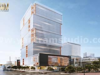 Condominios de estilo  por Yantram Architectural Design Studio