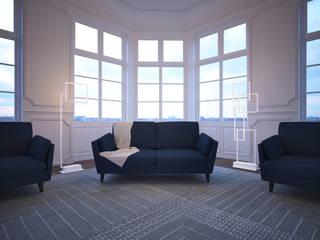 Modern Bedroom by Pujol Iluminacion Modern