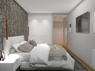 Dormitorios modernos: Ideas, imágenes y decoración de PLAN B INTERIORISMO Moderno