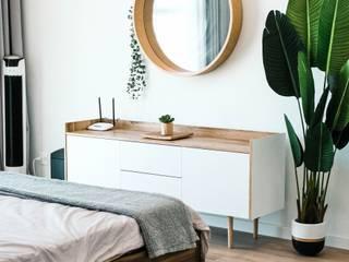 Reforma integral vivienda: Dormitorios pequeños de estilo  de LRF ,