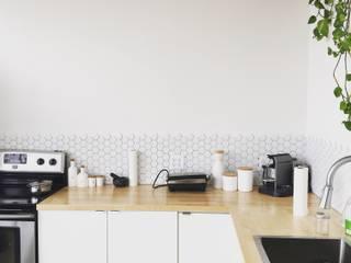 Proyecto de decoración: Cocinas pequeñas de estilo  de LRF ,