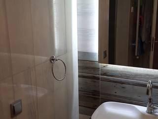 çiğdem mahallesi / yaşam alanı Rustik Banyo Demirhan içmimarlık Rustik