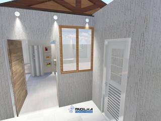 Projeto Residencial Cliente Gilda: Casas  por Padilha Arquitetura e Urbanismo,Moderno