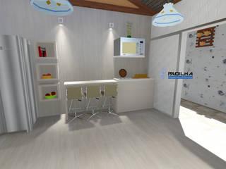 Projeto Residencial Cliente Gilda: Cozinhas  por Padilha Arquitetura e Urbanismo,Moderno