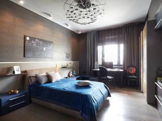"""Квартира в ЖК """"Доминион"""", 220 кв.м Спальня в стиле модерн от Мастерская интерьерных решений The Dom Модерн"""