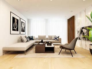 Moderne Wohnzimmer von Bis-bis Design Studio Modern