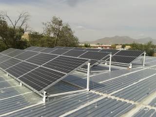 SFV (Sistema Solar Fotovoltaico) de CORSA grupo constructor / CORSA energia solar Moderno