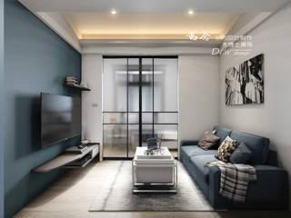 孔雀藍 根據 木博士團隊/動念室內設計制作 現代風