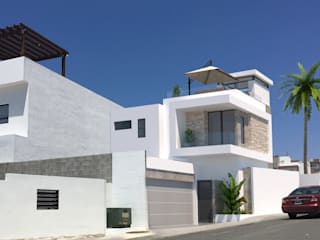 Single family home by URBAO Arquitectos, Modern