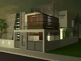 Residence 3D View by Olive Architecture Studio