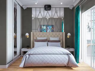 Французская Эклектика в ЖК Наследие Спальня в классическом стиле от Студия Дизайна Елены Сайфуллиной Классический