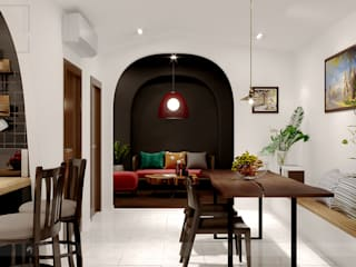 BaDen Apartment bởi Bdoup Architects Mộc mạc