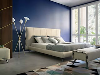 SCIANGAI / F in camera da letto di INTERIA SRL Moderno
