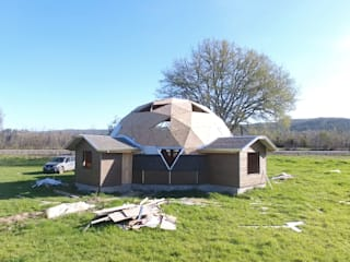 rustic  by Constructora Crowdproject, Rustic