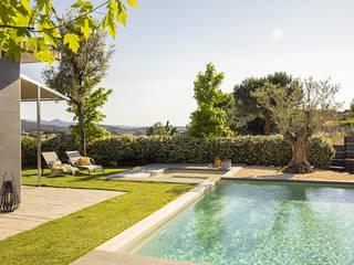 Projekty,  Basen do ogrodu zaprojektowane przez Silvia R. Mallafré,