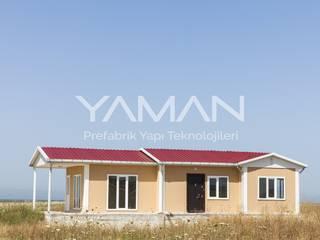 Prefabrik Ev (Yaman Prefabrik) – 81 m2 Prefabrik Ev:  tarz