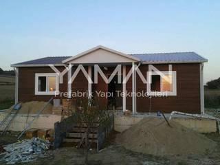 Prefabrik Ev (Yaman Prefabrik) – 82 m2 Prefabrik Ev:  tarz