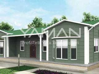 Prefabrik Ev (Yaman Prefabrik) บ้านสำเร็จรูป เหล็ก Green