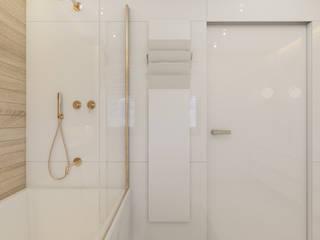 Salle de bains de style  par Polilinia Design, Moderne