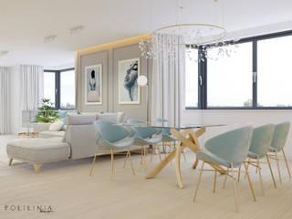 Salle à manger de style  par Polilinia Design, Moderne