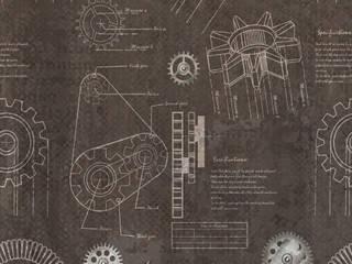 Tecnografica Klassieke muren & vloeren Bruin