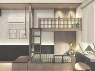 Dormitório Infantil - menino Quarto infantil moderno por Daniela Manosso Bampi - Arquitetura Inteligente Moderno