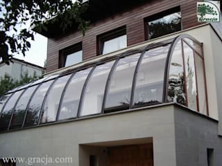 Ogród zimowy Gracja Prestige: styl , w kategorii Ogród zimowy zaprojektowany przez GRACJA SP. Z O.O.