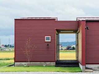 湖南の家: a.un 建築設計事務所が手掛けた一戸建て住宅です。,