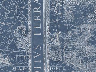 Tecnografica Klassieke muren & vloeren Blauw