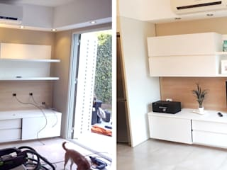 Comedores de estilo  de Fabiana Ordoqui  Arquitectura y Diseño.   Rosario | Funes |Roldán, Moderno