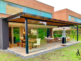 Arquitectura y Complementos Lean-to roof Iron/Steel Black