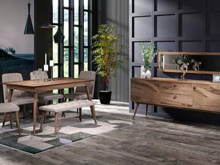 RETRO MOBİLYA CaddeYıldız furniture Modern Yemek Odası