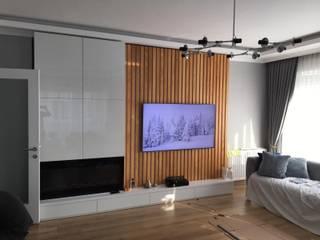 tetradecor – Bostancı konut, Mobilya tasarım & uygulama: modern tarz , Modern