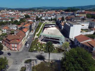 Proposta de Edifício Publico - Fafe Escritórios modernos por ARQUITECTOSRT Moderno