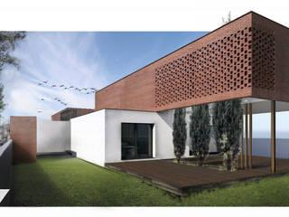 Moradia Unifamiliar - Guimarães Casas modernas por ARQUITECTOSRT Moderno