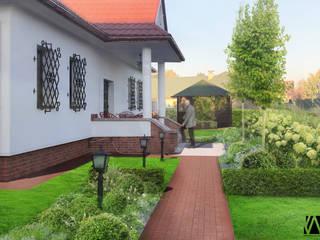 Projekt ogrodu_ Zgłobice od kART LANDSCAPE DESIGN