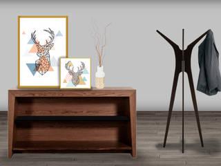 Decoración de interiores, proyecto familiar de moblum Estudios y despachos modernos de moblum Moderno