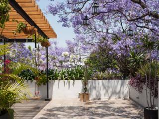 Terraza Calle 27 Balcones y terrazas modernos de Maquiladora de Muebles Moderno