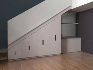 Mobiliario depto 150 de PLARIST Moderno