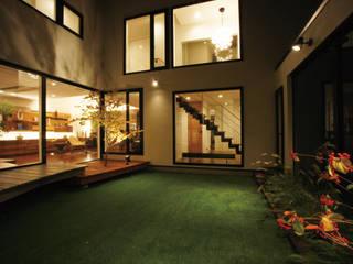 札幌市 H邸 オリジナルデザインの テラス の 北渡建設一級建築士事務所 オリジナル